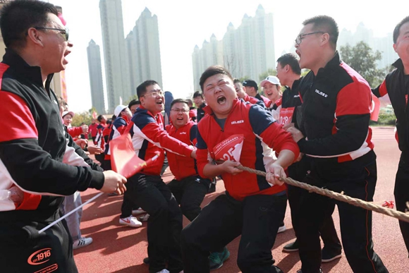 赛场秋点兵 奋进五个年 且看济南报业人的运动燃情嘉年华
