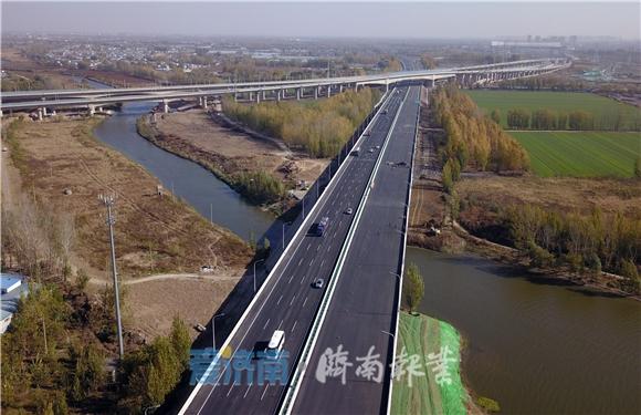 小清河特大桥新装亮相,下月实现通车